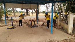 """กิจกรรม""""ปิดเมือง Big Cleaning Day"""" ขององค์การบริหารส่วนตำบลสิงห์ วันที่ 18 กุมภาพันธ์ 2563"""