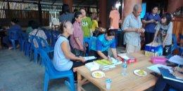 ออกประชาสัมพันธ์โครงการบริหารจัดการขยะ-งานขององค์การบริหารส่วนตำบลสิงห์ ประจำปี 2563 หมู่ที่ 1 บ้านปากกิเลน