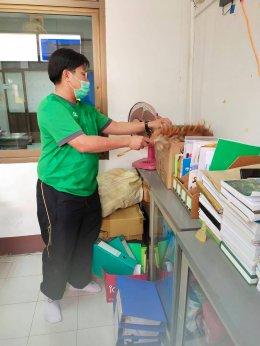 """กิจกรรมโครงการส่งเสริมกิจกรรม  """"Big Cleaning Day """" วันที่  4 มีนาคม  2563"""