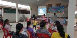 ออกประชาสัมพันธ์โครงการบริหารจัดการขยะ-งานขององค์การบริหารส่วนตำบลสิงห์ ประจำปี 2563 หมู่ที่ 6 บ้านท่าตาเสือ