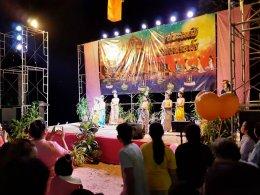 """โครงการอนุรักษ์ ส่งเสริม ประเพณี วัฒนธรรมไทย """"งานลอยกระทง ริมฝั่งแม่น้ำแควน้อย"""" เมื่อวันที่ 11 พฤศจิกายน 2562"""