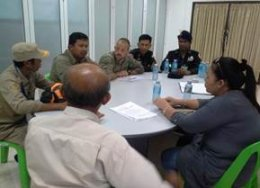 3 May 2014 – Meeting at KSI with representatives