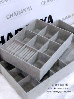 รับทำตามแบบและขนาดที่ลูกค้าต้องการ จัดเก็บอย่างเป็นระเบียบ ในพื้นที่ที่จำกัด Custom Jewelry Drawer Inserts