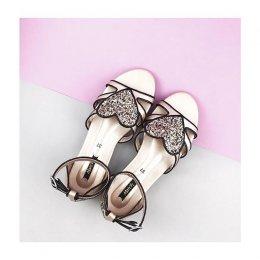 Double Heart Sandals