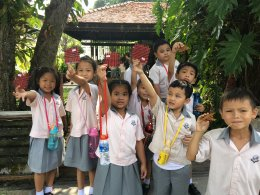 SISA Amatanakorn School Visited Local Bamboo Handicraft Community