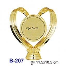 หัวป้ายรางวัล พลาสติก B-207
