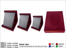 โล่ไม้ Wooden 7055 Velvet Box กล่องกำมะหยี่