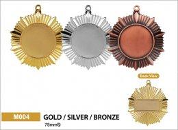 เหรียญรางวัลโลหะผสม M004