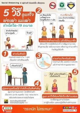 5 วิธีดูแลใจพ่อเฒ่า แม่เฒ่า