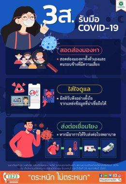 3ส. รับมือ COVID-19