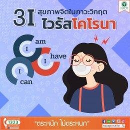 3i สุขภาพจิตในภาวะวิกฤต ไวรัสโคโรนา