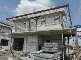 งานก่อสร้างบ้านเดี่ยว - โครงการ H-Cape Serene
