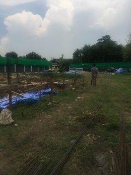งานก่อสร้างบ้านพักอาศัย 2 ชั้น แพรกษา แพรกษา