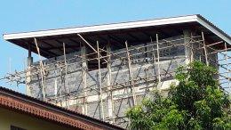 งานก่อสร้างอาคารพักอาศัย 4 ชั้น อุดมสุข
