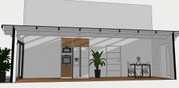 งานออกแบบต่อเติมห้องครัว