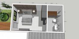 งานออกแบบต่อเติมหลังบ้าน - ลาดพร้าว 71