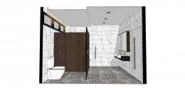 งานออกแบบห้องน้ำ - โรงงานยำยำ