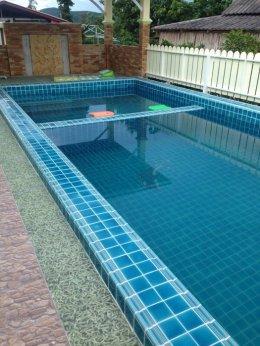 กระเบื้องสระว่ายน้ำ