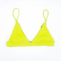 BIKINI TOPS LEMON YELLOW