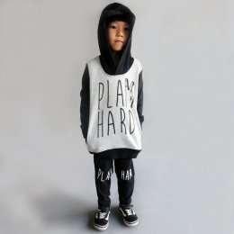 KIDS 1-7Y.[F] LP0740 PLAY HARD WITH POCKET