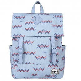 8848 Backpack (Faded Denim Wave)