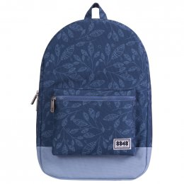 8848 Backpack (Dark Blue with Leaf)