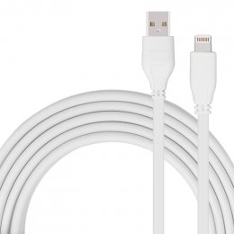 MOMAX GO LINK Lightning Cable (MFI) - White