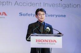 ฮอนด้า เดินหน้าโครงการวิจัยเพื่อเมือง ไทยไร้อุบัติเหตุ