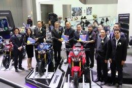 กระหึ่มวงการยานยนต์!! ค่ายรถมอเตอร์ไซค์ แห่เปิดตัวรถใหม่ใน Motor Expo 2016 สุดคึกคัก!!