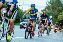 YAMAHA REVS CYCLING ชวนสื่อมวลชน ร่วมออกกำลังสร้างความแข็งแรง