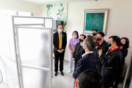 ยามาฮ่าร่วมสนับสนุนนักรบเสื้อกาวน์ มอบห้องตรวจหาเชื้อไวรัสโควิด-19 ให้โรงพยาบาลรามาธิบดี