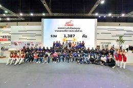 ยามาฮ่าสวนกระแสวิกฤติโควิด เสริมการขายผ่านช่องทางออนไลน์ งานมอเตอร์โชว์ 2020 ยอดขายกระฉูด 1,387 คัน WR155R และ XMAX สุดฮอต!!!