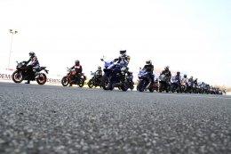 ยามาฮ่าเชิญชวนสมาชิกยามาฮ่าคลับร่วมชม และเชียร์นักแข่งยามาฮ่าพร้อมพาร่วมสัมผัสประสบการณ์สุดพิเศษขับขี่บนแทร็คระดับโลก
