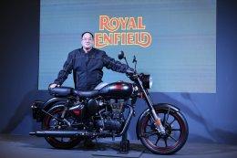 'รอยัล เอนฟิลด์' เปิดตัว 'คลาสสิก 500 สเตลท์ แบล็ค' สีใหม่