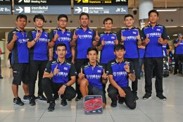 ยามาฮ่าต้อนรับฮีโร่นักบิดไทย หลังคว้าโพเดี้ยมทั้งรุ่นเล็ก รุ่นใหญ่ ศึกชิงแชมป์เอเชียที่ญี่ปุ่น