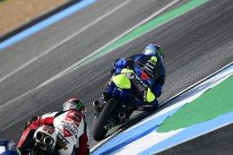 """""""Nine Stamp"""" อภิวัฒน์ วงศ์ธนานนท์ สู้สุดใจ ไล่บี้นักแข่งระดับโลกสุดมันส์ จบอันดับ 16 ศึก Moto3 ในเกมเวิลด์ กรังซ์ปรีซ์ แรกต่อหน้ากองเชียร์ไทยในสนามโฮมเรซ"""