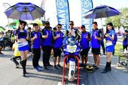นักบิด YAMAHA RIDERS' CLUB RACING TEAM ผงาดยืนโพเดี้ยม พร้อมตำแหน่งแชมป์ประเทศ รายการ R2M THAILAND SUPERBIKES CHAMPIONSHIP 2017 สนามที่ 5