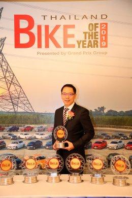 ยามาฮ่า กวาดรางวัล BIKE OF THE YEAR 2019 การันตีคุณภาพด้วย 11 รางวัลชั้นนำของประเทศ