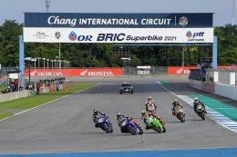 "OR BRIC Superbike ประเดิมสุดเดือด ""ฐิติพงศ์-คณาทัต-ชานนท์"" ผงาดแชมป์สนามแรก"