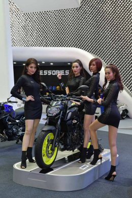 Yamaha Rev Pavilion สุดอลังการ!!! ในงาน Bangkok International Motor Show 2018