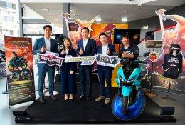 YAMAHA Garena และ Buriram United Esports 3 ยักษ์ใหญ่แท็กทีม ปล่อย New YAMAHA AEROX 155 สีใหม่ บุกตลาดออโตเมติกคลาส 150 ซีซี