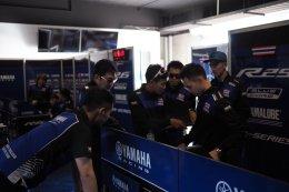 ตั้น - ตี หัวหอกนักบิด ยามาฮ่า ไทยแลนด์ เรซซิ่งทีม กดเวลาติดท๊อป 5 ซ้อมวันแรก ศึกชิงแชมป์เอเชียสนาม 2