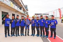 ต๋ง - พีรพงศ์ นักบิดไทยยามาฮ่า ฟอร์มสุดแกร่ง ควบ R6 นำธงไทยโบกสะบัดเหนือโพเดี้ยม คว้าดับเบิ้ลโพเดี้ยม ศึกชิงแชมป์เอเชียสนาม 2 ที่ออสเตรเลีย