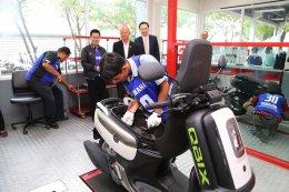 """""""อี.เทค"""" คว้าแชมป์ประเทศไทย การแข่งขันทักษะวิชาชีพสาขารถจักรยานยนต์"""