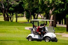 """""""ยามาฮ่า"""" โชว์สมรรถนะ Yamaha Golf Car พร้อมดวลวงสวิงกระชับสัมพันธ์สื่อมวลชน"""