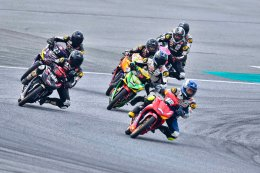 ยามาฮ่า ระเบิดเกมความมันส์ YAMAHA Moto Challenge Special Season สนามที่ 1 เกมชิงชัยความเร็วระดับอาชีวศึกษาบนแทร็คระดับโลก