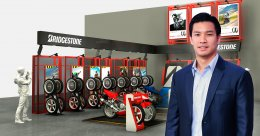 """""""บริดจสโตน"""" คัมแบ็ก!! ตลาดยางรถจักรยานยนต์ไทย"""