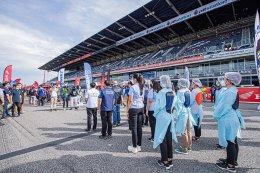 สนามช้างฯ ยกฮีโร่ชุดขาวเบื้องหลังความสำเร็จมอเตอร์สปอร์ตไทยในยุคโควิด19 เดินหน้าจัดศึกสองล้อสนามต่อไป 1-3 ต.ค.นี้