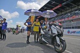 Yamaha XMAX300 บุกสนามแข่งระดับโลก ประกาศศักดาตอกย้ำความเป็นที่สุดของออโตเมติก 300cc