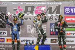 นักบิดไทยยามาฮ่า หวดคันเร่งรถแข่ง R-Series ทุบสถิติสนามไทยแลนด์ กวาดโพเดี้ยมศึกชิงแชมป์ประเทศไทยสนาม 3 แบบเหนือชั้น!!!